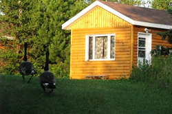 Aventure plume blanche h bergement en tipi tente for Camp en bois rond